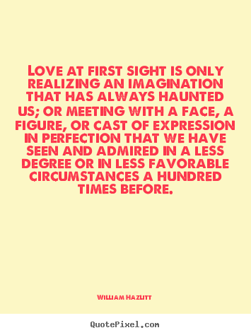 Great Quotes About Love At First Sight : Love At First Sight Quotes. QuotesGram