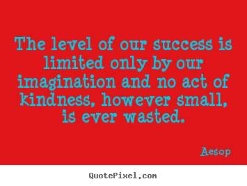 Success quotes - The level of our success is limited only by..